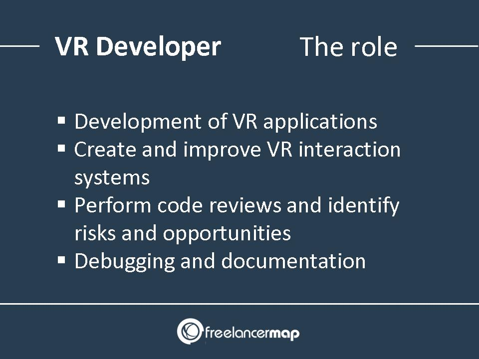 Virtual Reality Developer Responsibilities