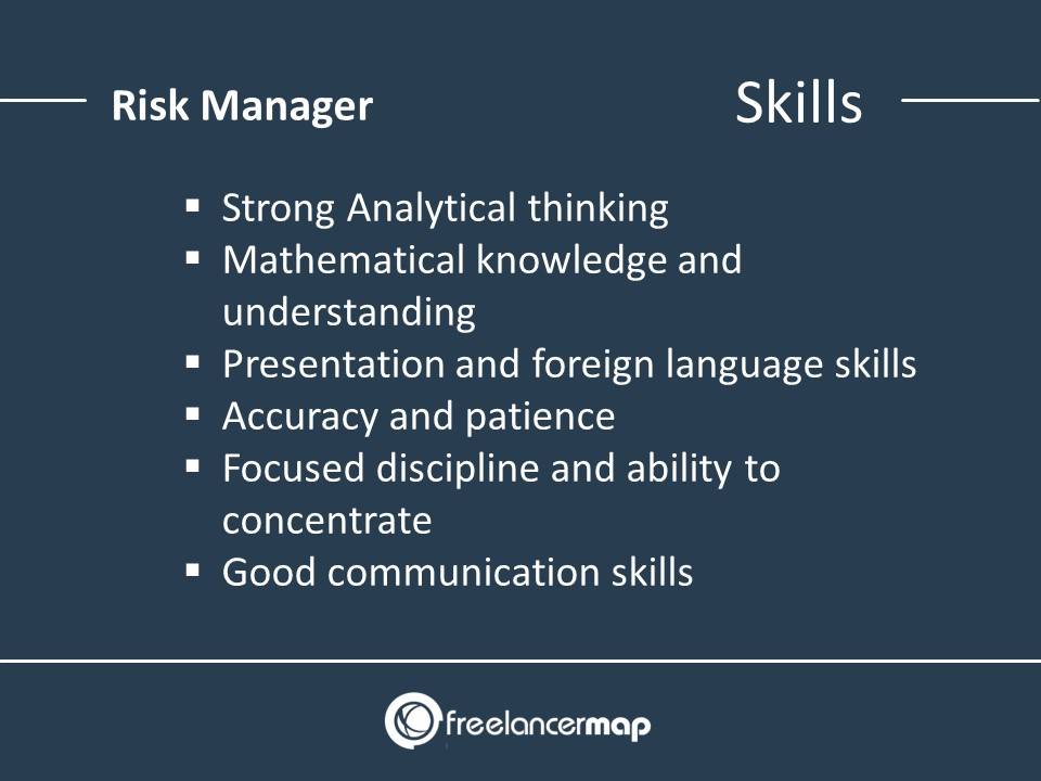 List of skills for risk managers