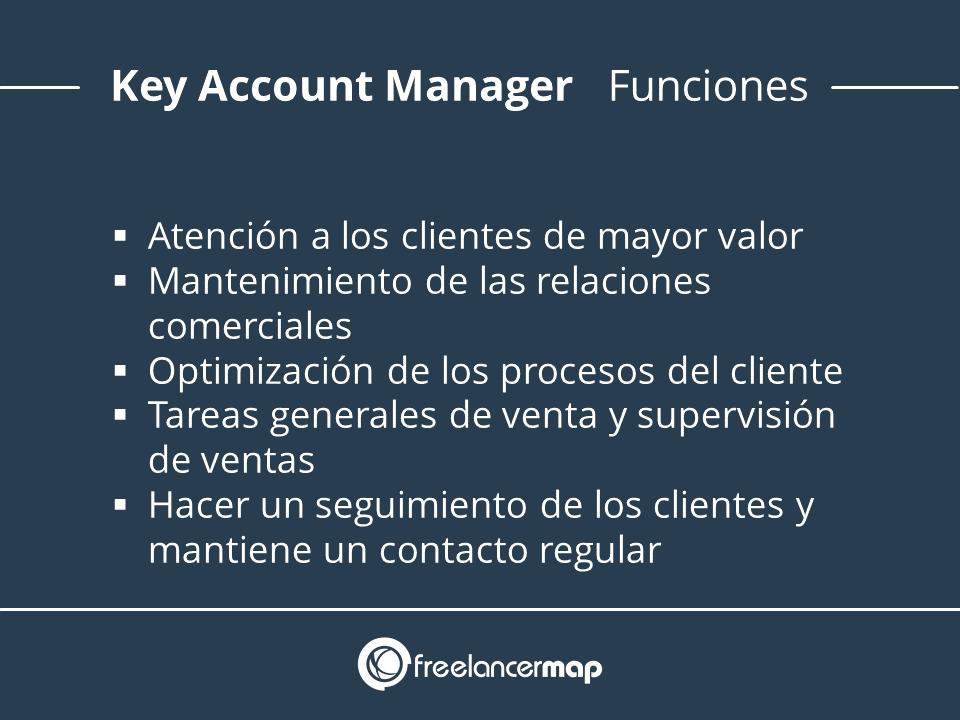 Funciones key account manager