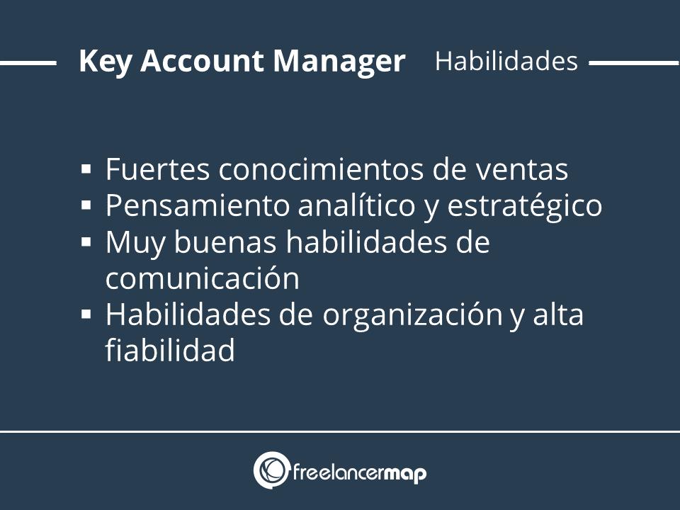 Habilidades y conocimientos Key Account manager