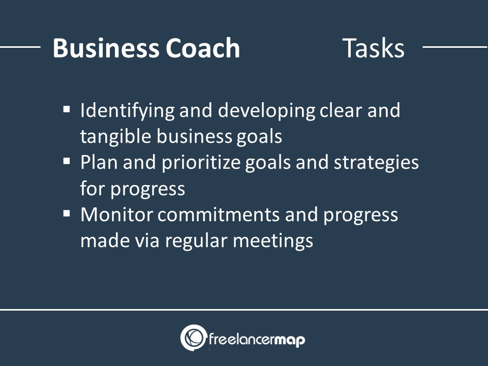 Business Coach - Responsibilities