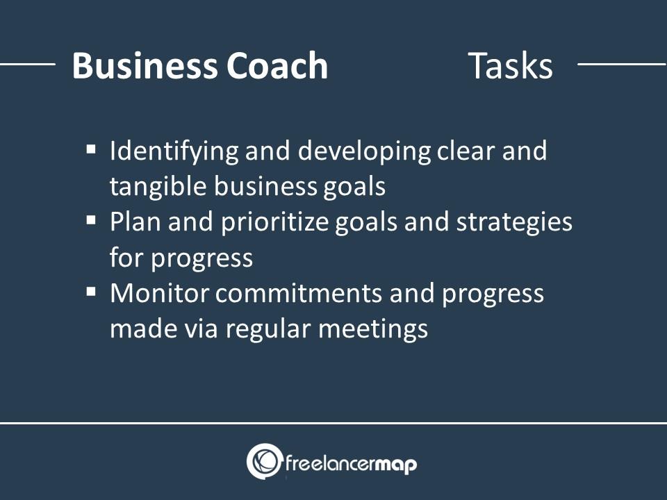 Business Coach - Responsibilities