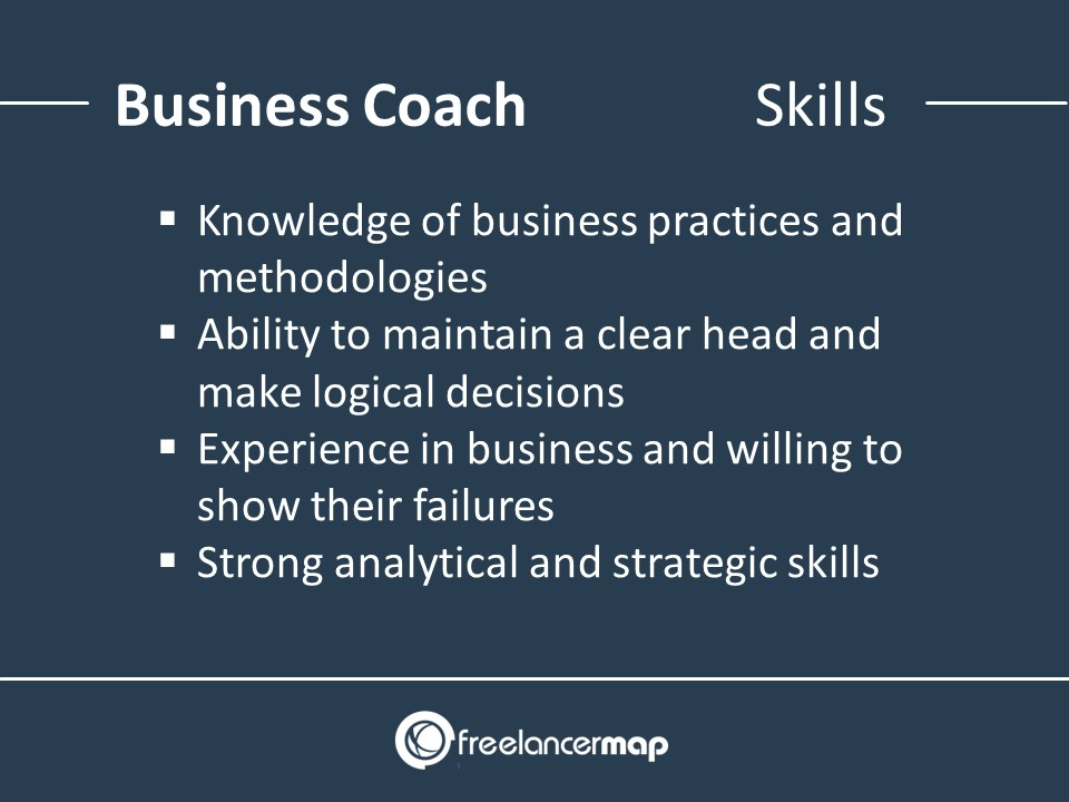 Business Coach - Skills Required