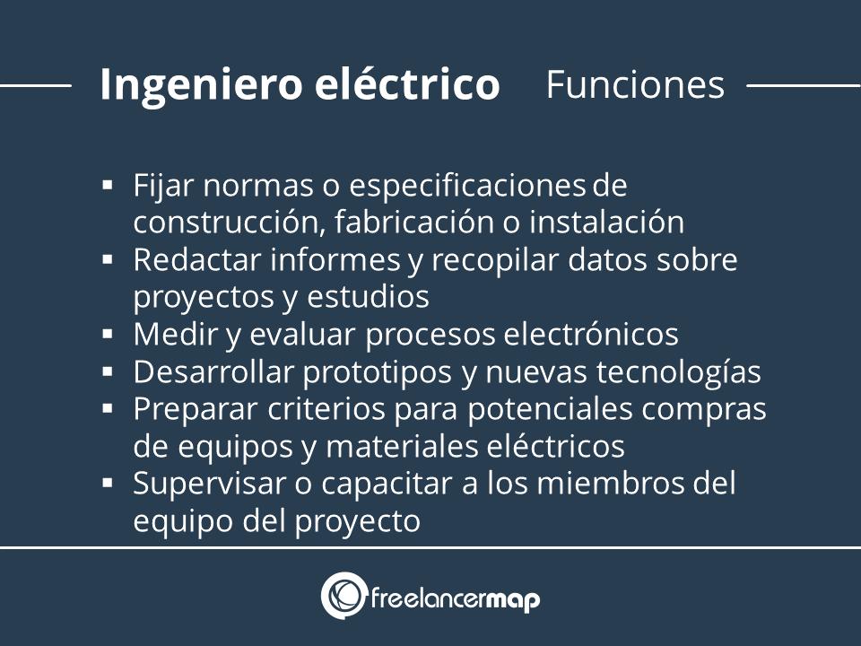 Responsabilidades de un ingeniero eléctrico