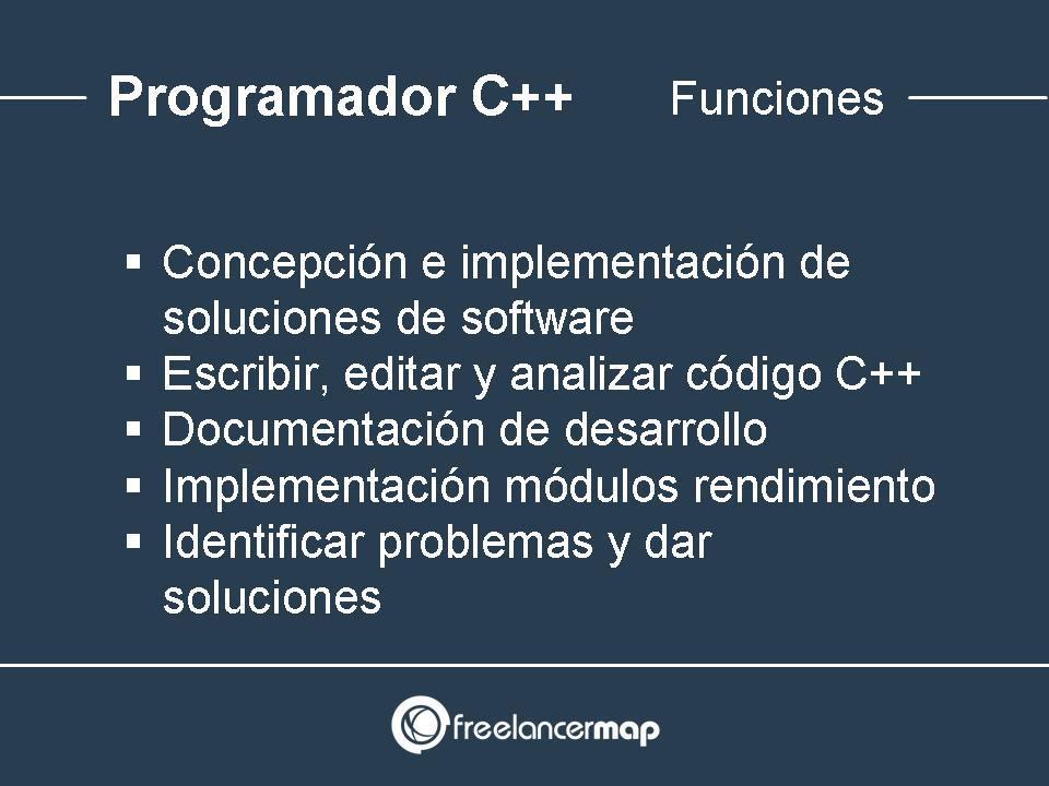 Programador C++ funciones