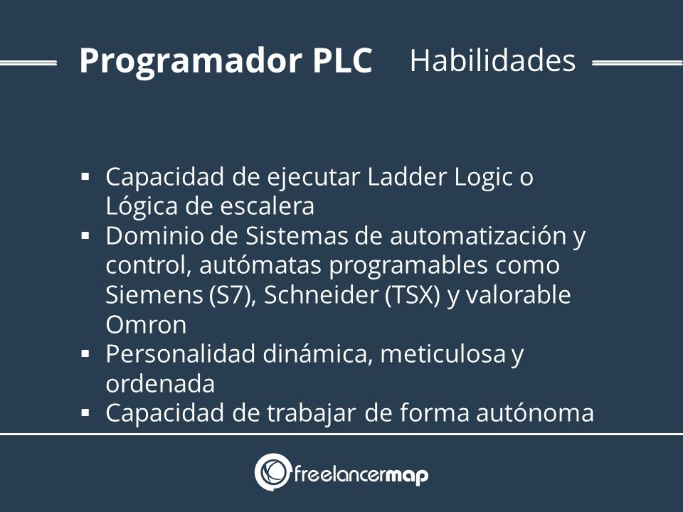 Conocimientos y habilidades necesarios en programación PLC