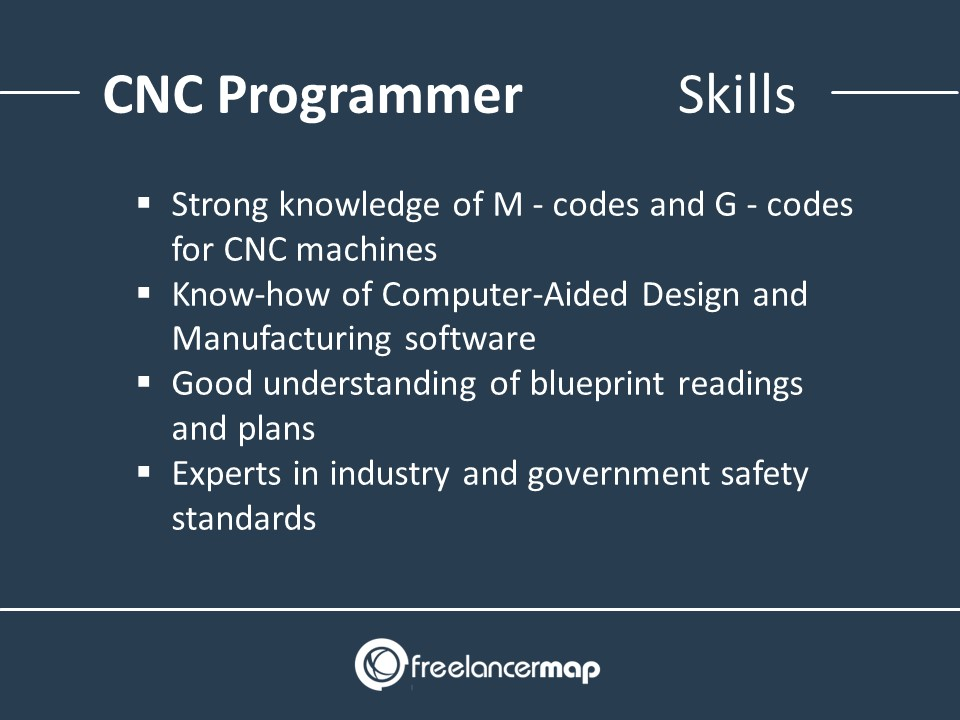 CNC Programmer - Skills Required