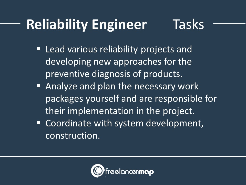 Reliability Engineer - Responsibilities and Tasks