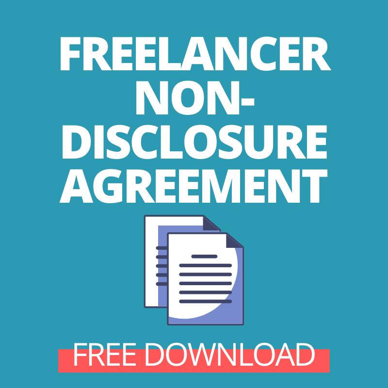 NDA sample for freelancers - Free download
