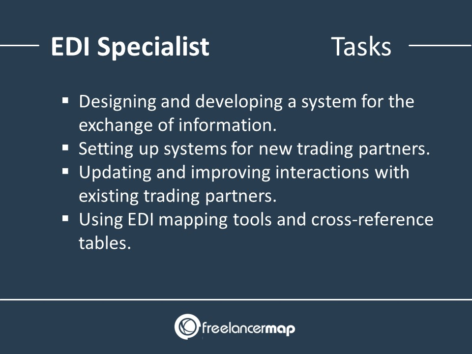 Responsibilities and tasks of an EDI Specialist