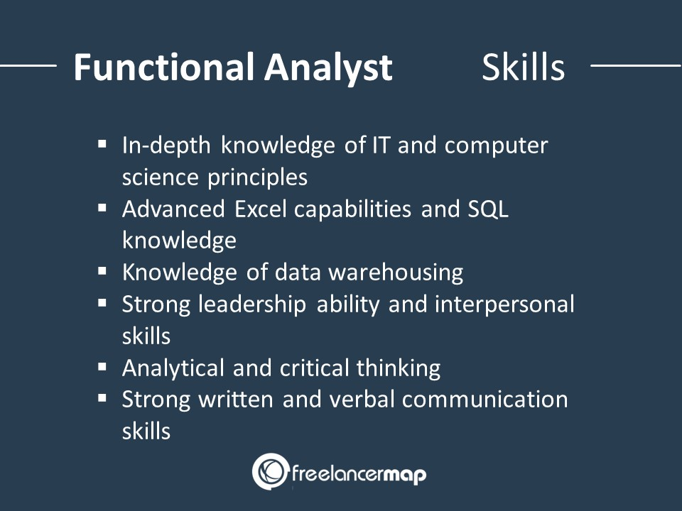Skills required to become a functional Analyst