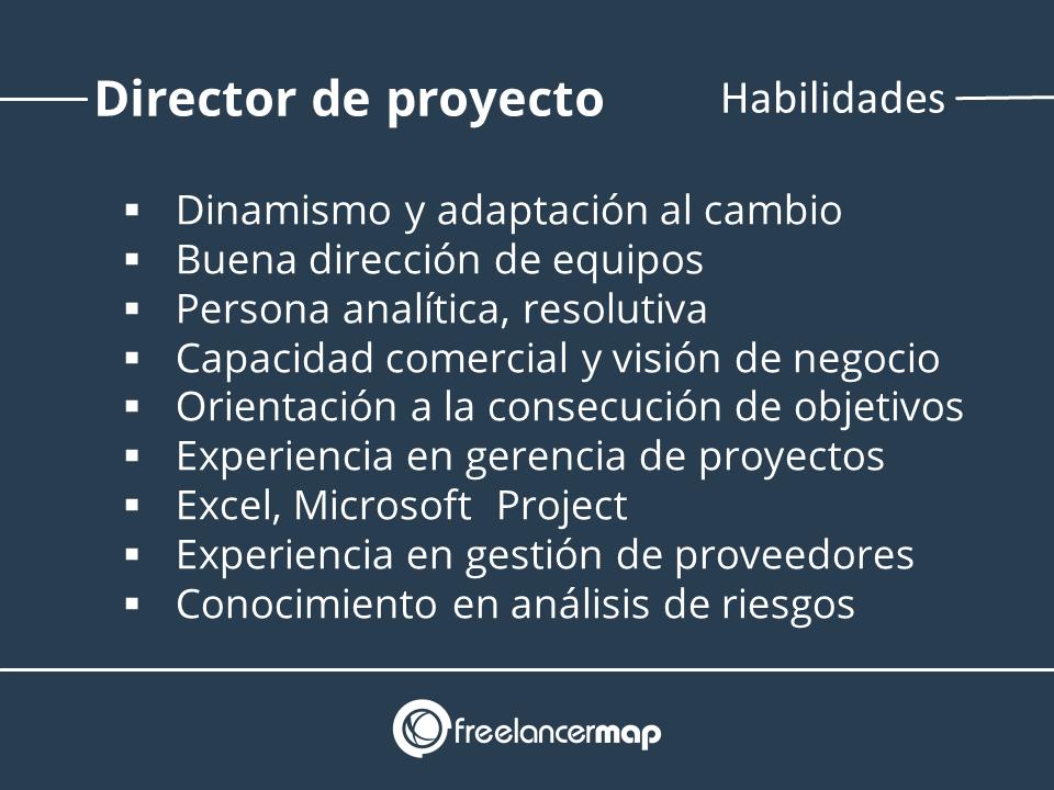Habilidades del lider de proyectos