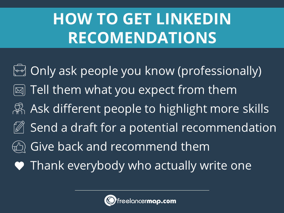 Tips to get LinkedIn recommendations for your profile