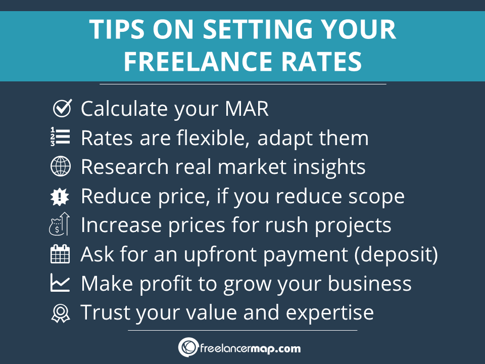 Tips for working out freelance rates