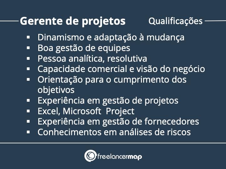 Qualificações do gerente de projetos