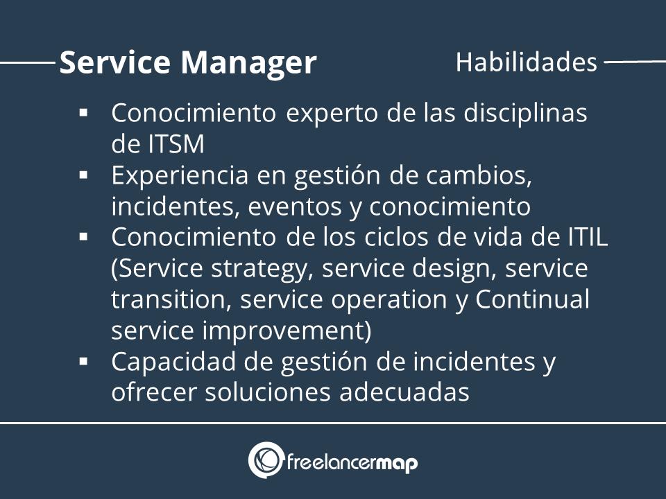 Habilidades en la gestión de servicios TI
