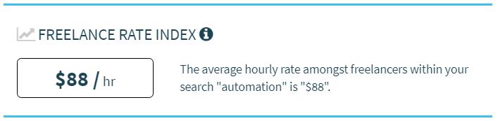 Precio hora freelancer experto en ingeniería de automatización