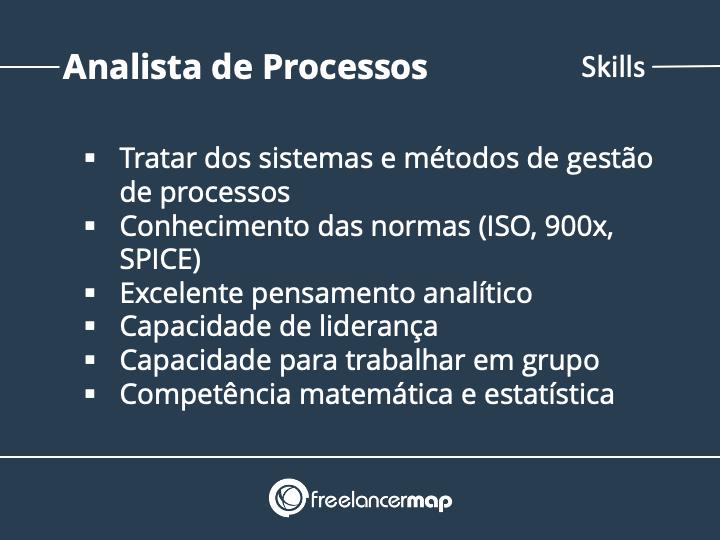 Skills de um Analista de Processos
