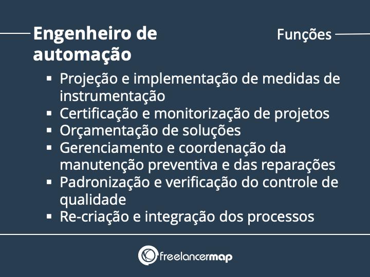 Funções de um engenheiro de automação