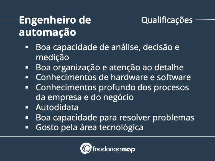 Qualificações de um engenheiro de automação
