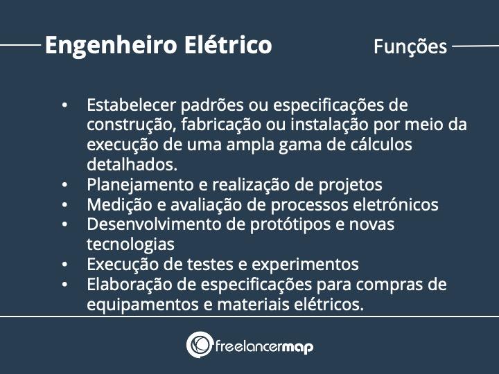 Funções do engenheiro elétrico