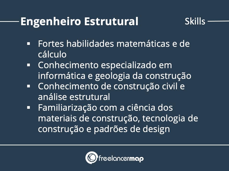 Skills de um Engenheiro Estrutural