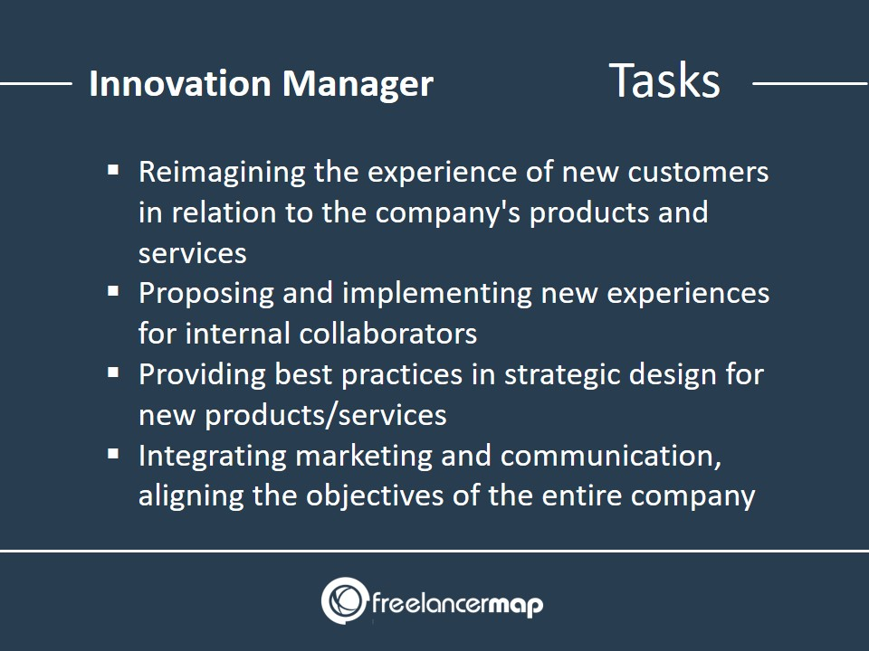 Responsibilities of an Innovation Manager
