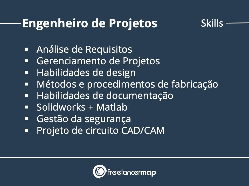 Skills do Engenheiro de Projetos