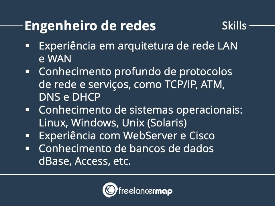 Qualificações de um Engenheiro de redes