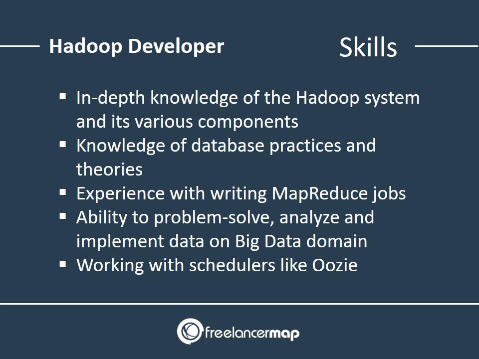 Hadoop Developer - Skills Required