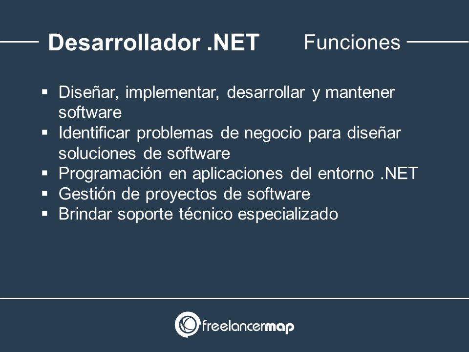 Responsabilidades del programador .NET