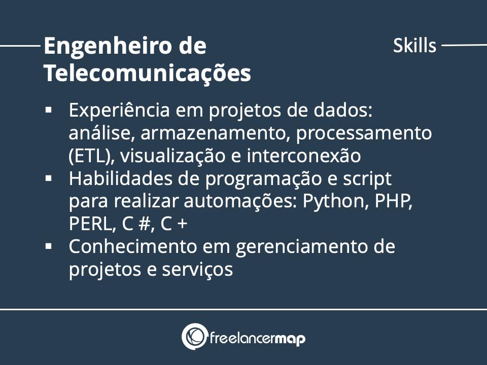 Skills de um Engenheiro de Telecomunicações