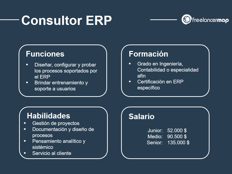 perfil profesional del consultor erp