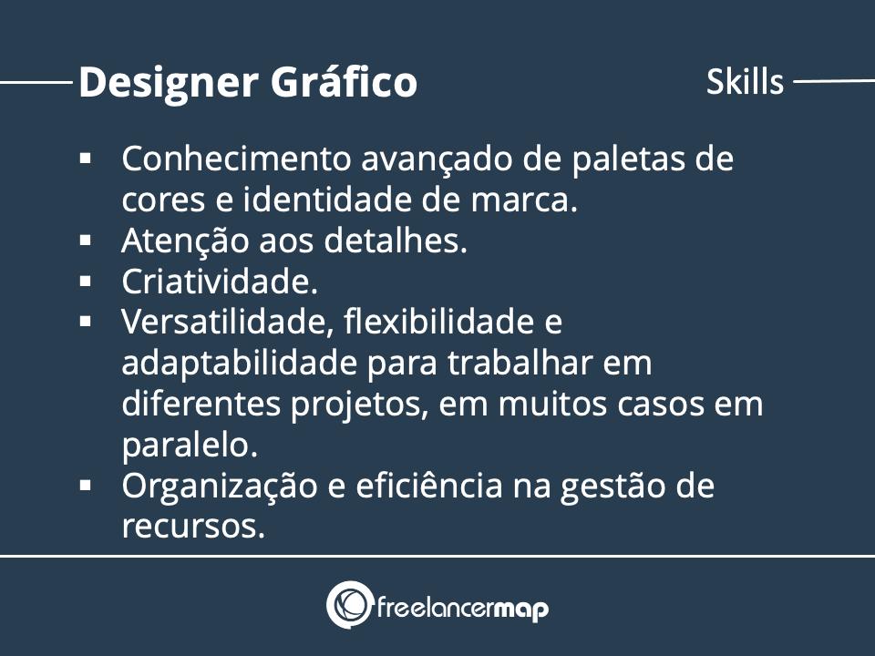 Requisitos para a função de designer gráfico