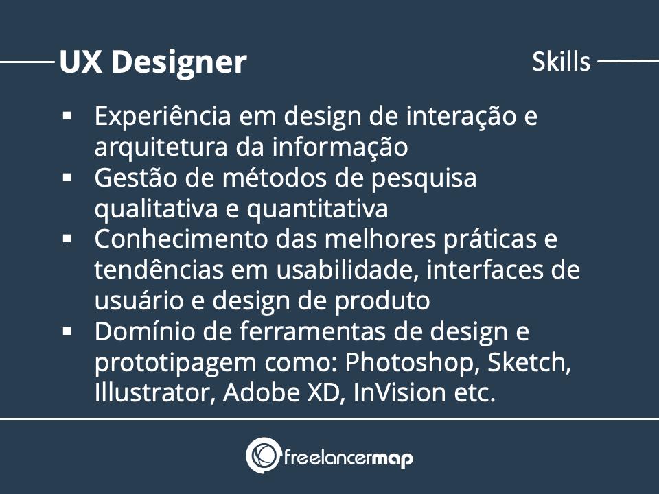 Skills de um designer de UX