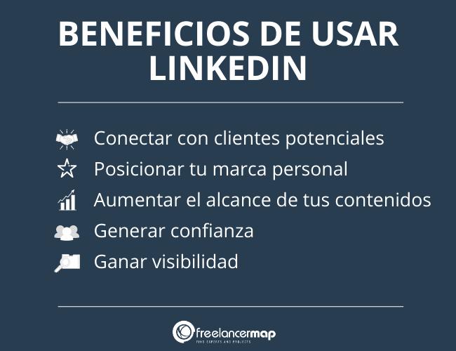 Beneficios de usar linkedin para marketing personal