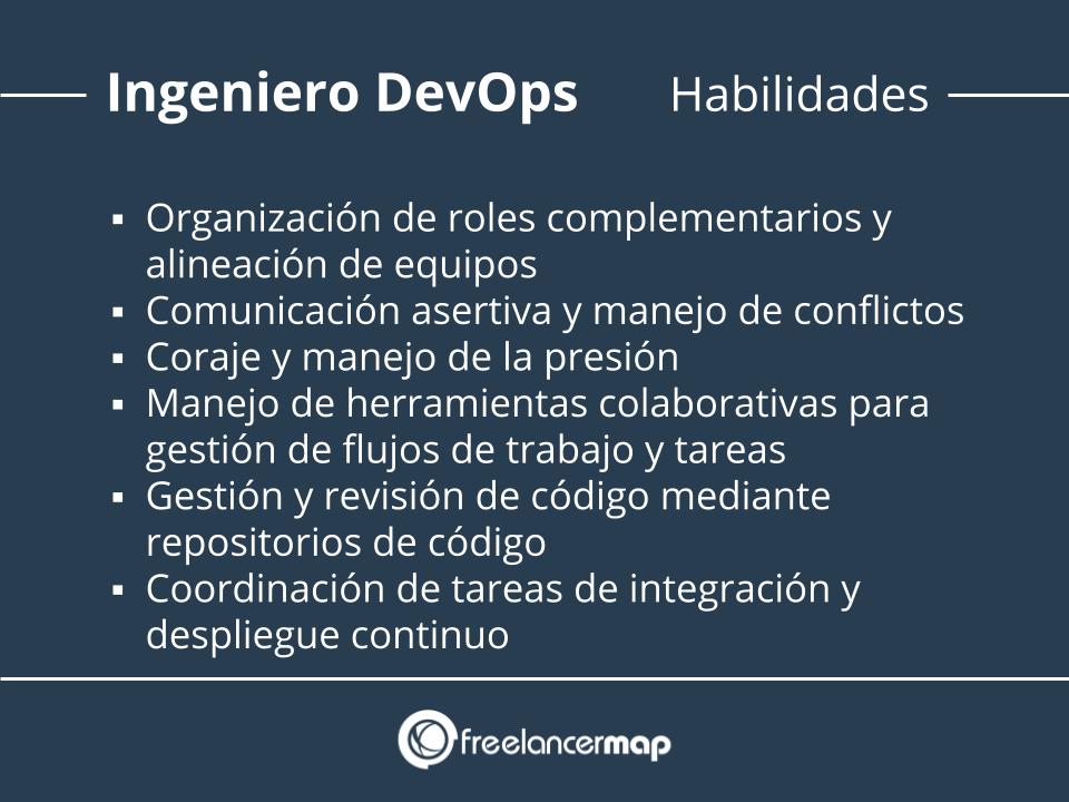 Habilidades del ingeniero DevOps