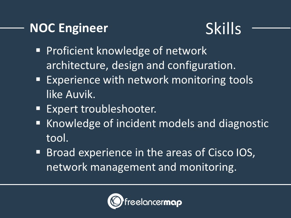 skills of a noc engineer