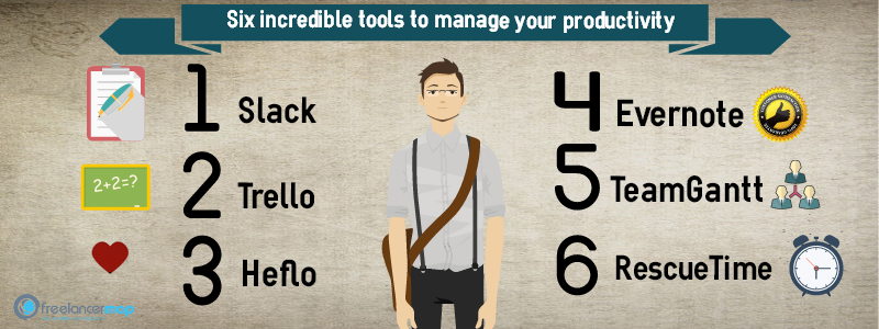 Best productivity tools for freelancers