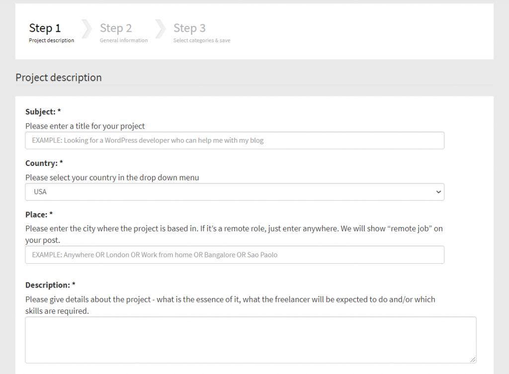 Cómo publicar un proyecto freelance gratuitamente en freelancemap