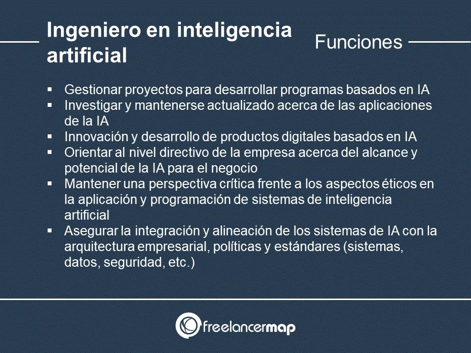 Responsabilidades del ingeniero en IA
