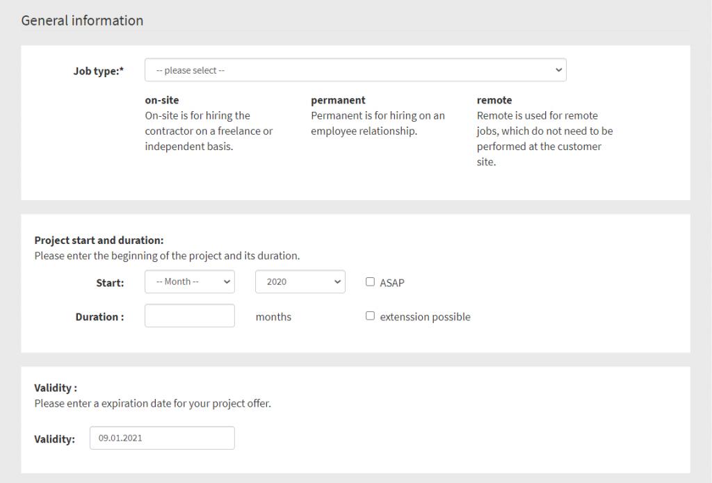 Cómo publicar un proyecto freelance gratuitamente en freelancemap: información general