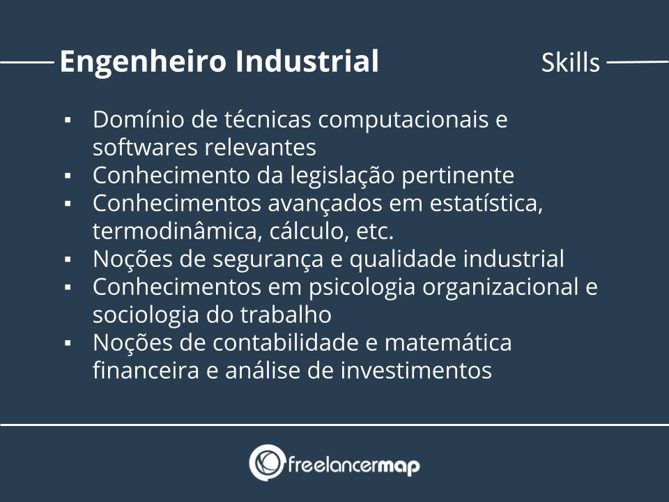 Habilidades do engenheiro industrial.