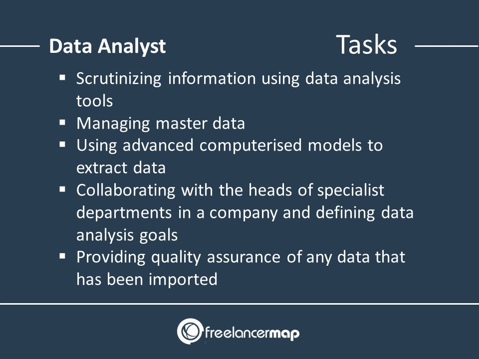 Responsibilities Of A Data Analyst