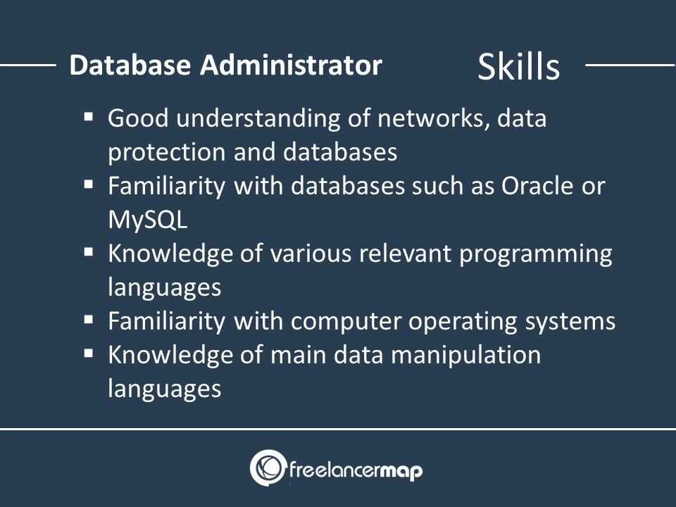 Skills Of A Database Administrator