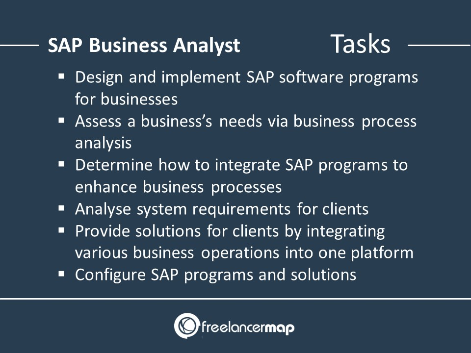 Responsibilities of a SAP Business Analyst