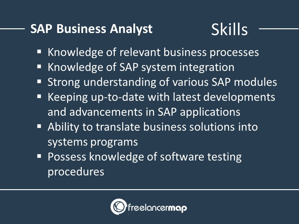 Skills of a SAP Business Analyst