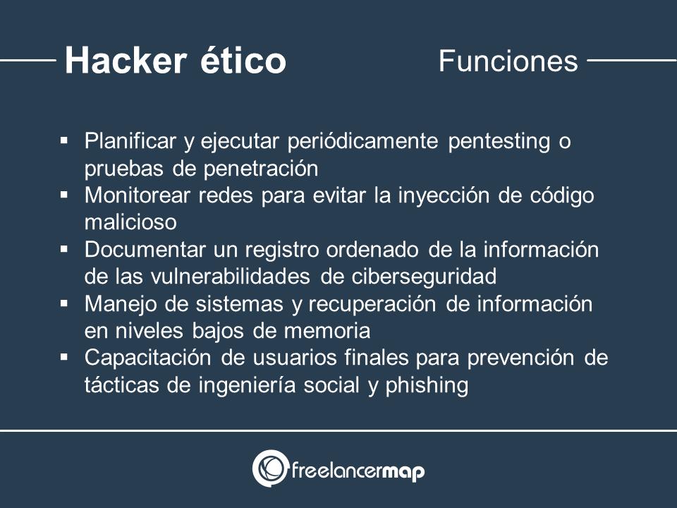 Responsabilidades del hackeo ético