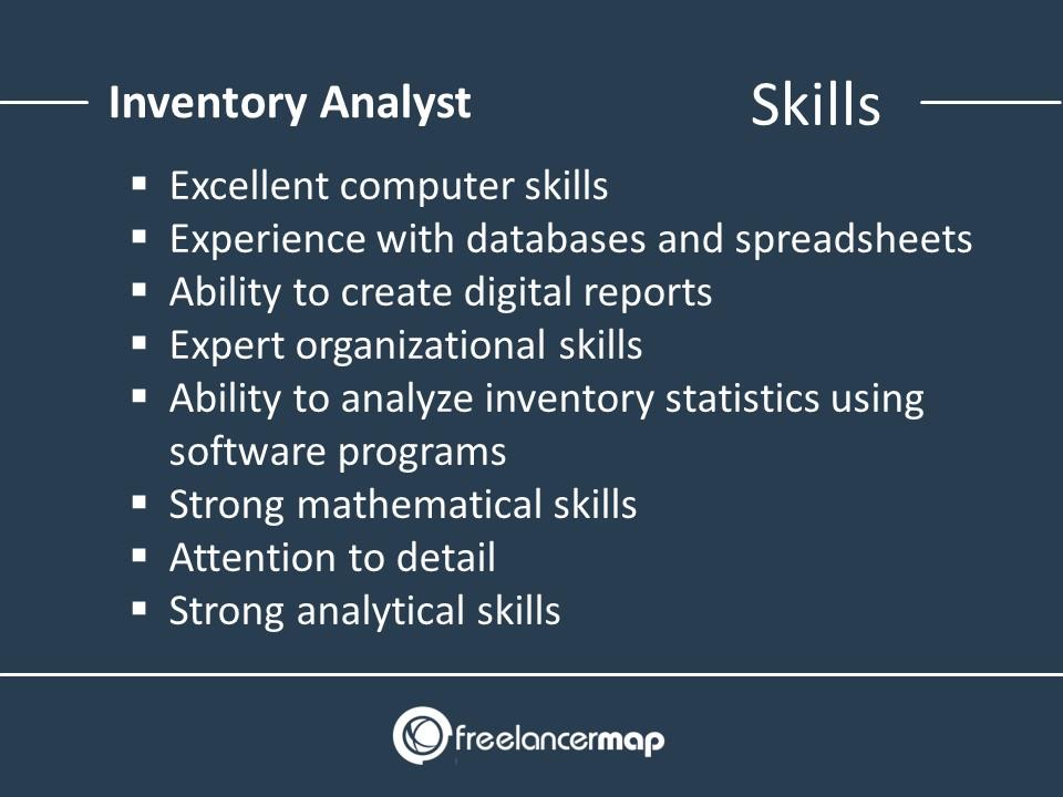 Inventory Analyst - Skills