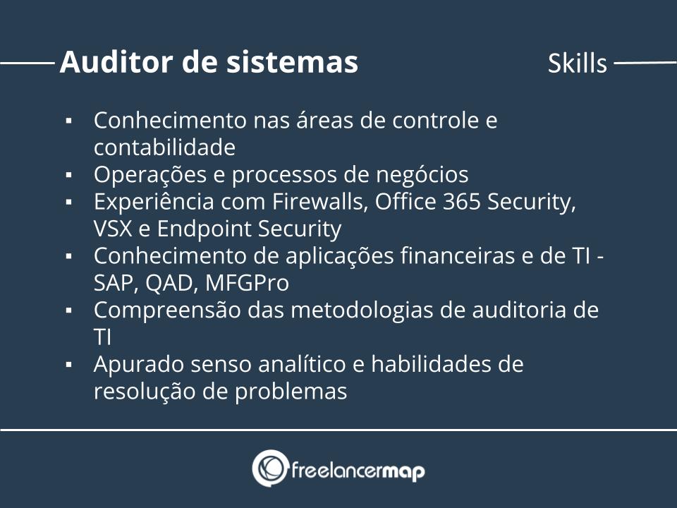 Skills de um auditor de sistemas